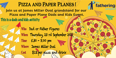 Pizza and Paper planes tickets