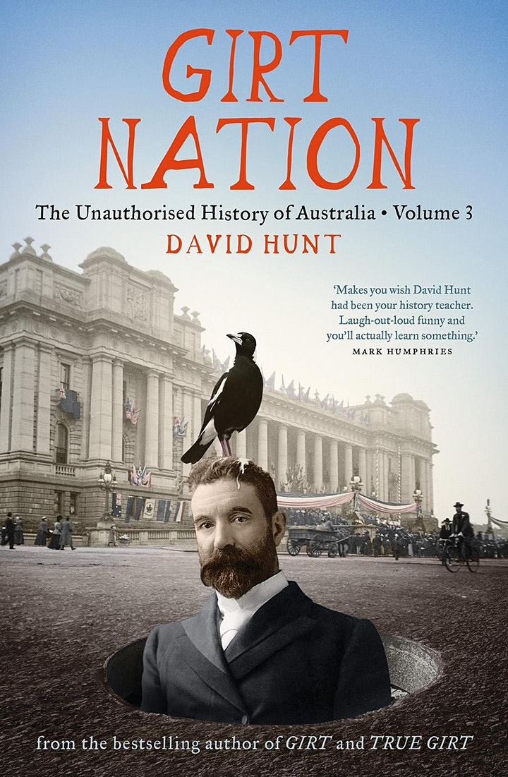 David Hunt presents Girt Nation in conversation with Wendy Harmer image
