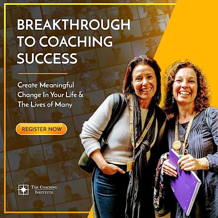 Breakthrough to Coaching Success image
