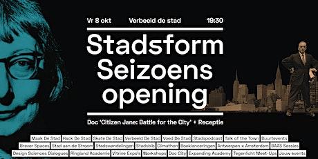 Stadsform Seizoenopening • Screening 'Citizen Jane: Battle for the City' tickets