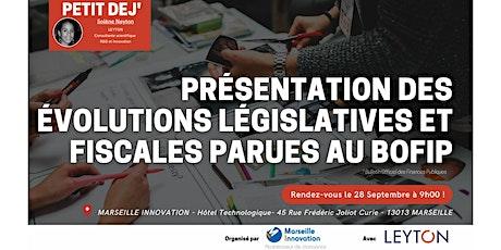 PRÉSENTATION DES ÉVOLUTIONS LÉGISLATIVES ET FISCALES PARUES AU BOFIP billets