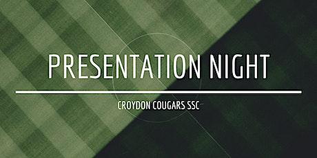 Croydon Cougars SSC - 2021 Presentation Night tickets