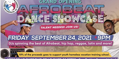 AFROBEAT DANCE SHOWCASE PARTY AFTER tickets