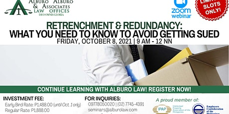Retrenchment & Redundancy: What You Need to Know to Avoid Getting Sued tickets