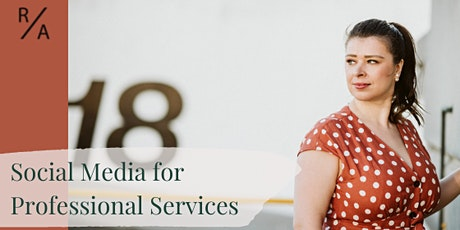 Social Media for Professional Services tickets