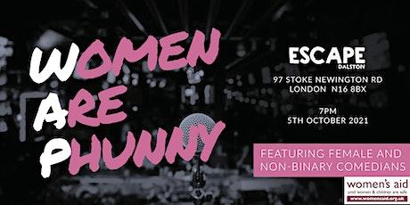 WAP: Women Are Phunny tickets