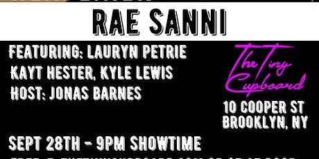 The Headliner Series NYC Presents: Rae Sanni tickets