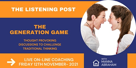The Listening Post - The Generation Game tickets