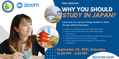 WHY YOU SHOULD STUDY IN JAPAN? tickets