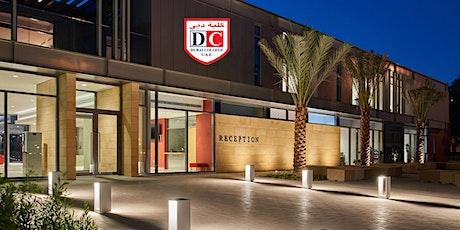 Dubai College Open Week 2021 - Sunday 3rd October - 13:55-14:40 tickets