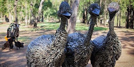Emerald Emu Egg Art tickets