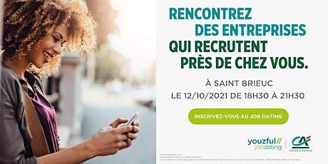 Job Dating à Saint-Brieuc : décrochez un emploi ! billets