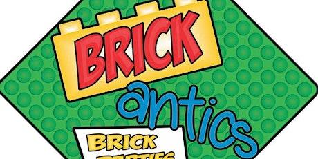 Brick Antics Lego  Construction-Take 2 tickets
