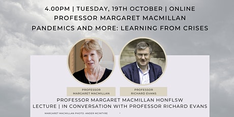 Pandemics and More: Learning from Crises | Pandemigau a Mwy: Dysgu o Argyfy tickets
