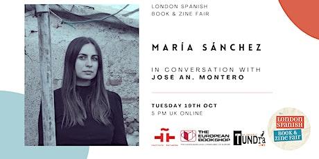 María Sánchez in Conversation at the London Spanish Book & Zine Fair tickets