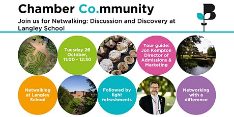 Netwalking: Discussion and Discovery at Langley School tickets