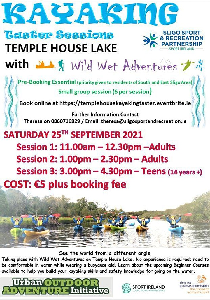 Temple House Kayaking Taster Sessions image