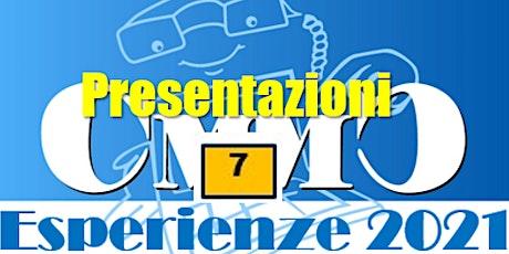 Presentazioni Esperienze che concorrono ai Premi  CMMC 2021 - n.7 biglietti