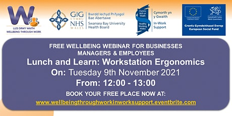 Lunch and Learn: Workstation Ergonomics tickets