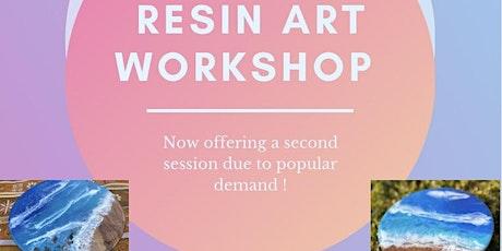 Resin art workshop (CRYSTAL BROOK) tickets