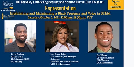 BESAC Presents: Representation- Establishing a Black Presence in STEM tickets