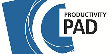 PAD Webinar - Wie steigere ich meine Produktivität? Tickets