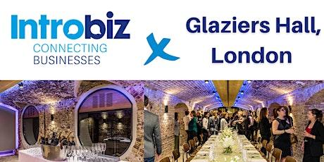 Introbiz x Glaziers Hall  London Networking Event tickets