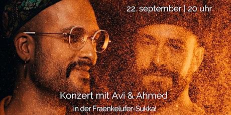 Konzert mit Avi & Ahmed in der Fraenkelufer-Sukka Tickets