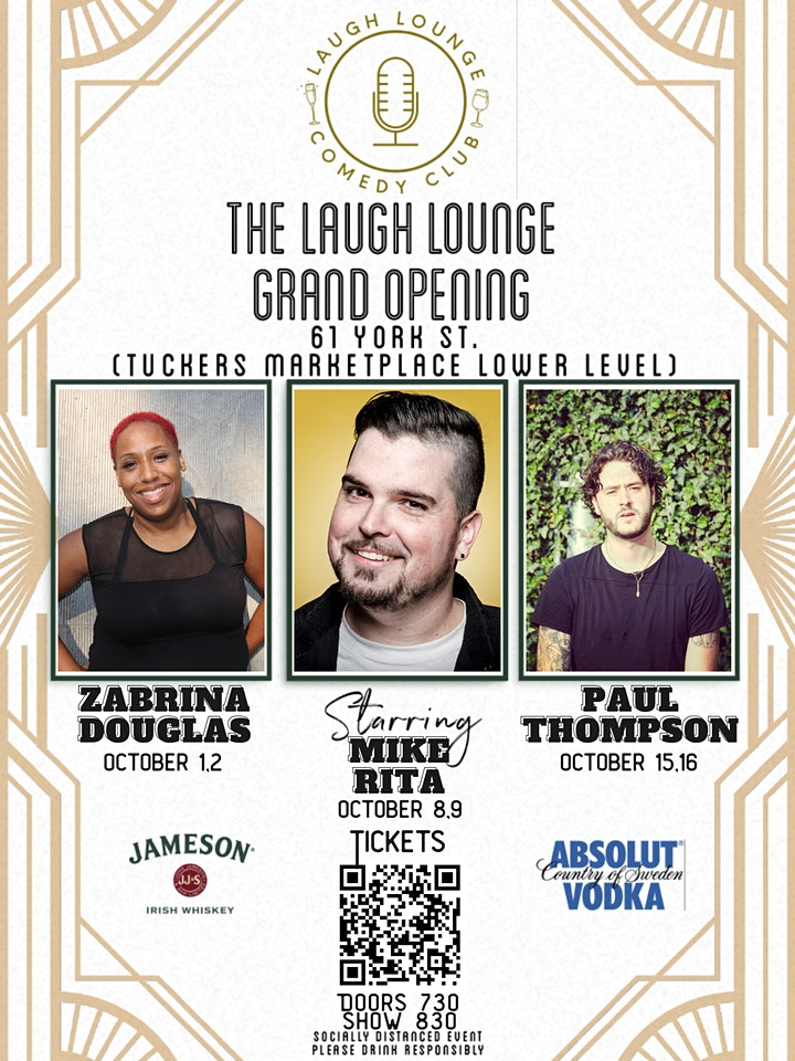 Laugh Lounge Comedy Grand Opening Shows image