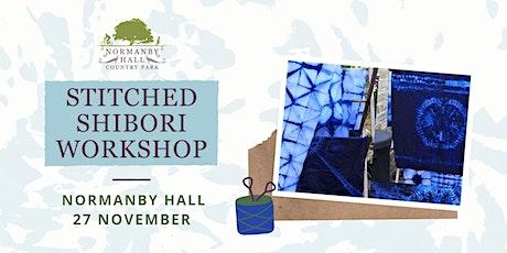 Stitched Shibori workshop tickets