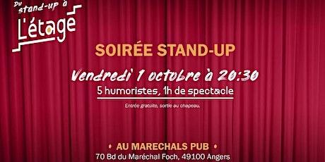 Du stand-up à l'étage du Maréchals Pub billets