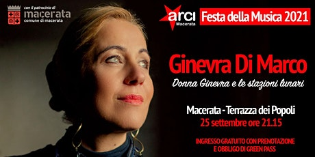 Festa della Musica 2021 - Ginevra Di Marco in Concerto biglietti