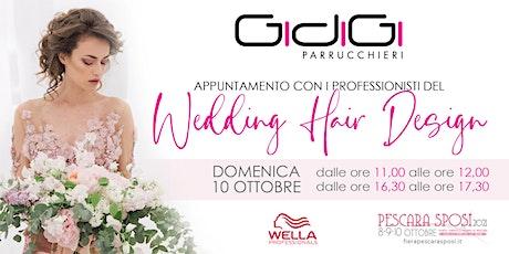 Appuntamento con i professionisti del Wedding Hair Design by GidiGi biglietti