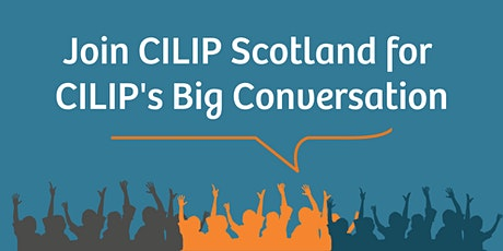 The Big Conversation with CILIP tickets