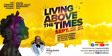 Online Eagles Youth Engagement: Living Above The Times Tickets