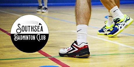 Southsea Badminton Club: 10 November 2021 tickets