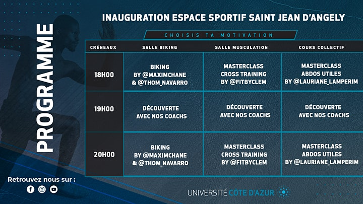 Image pour Inauguration Espace Sportif Saint Jean D'Angely