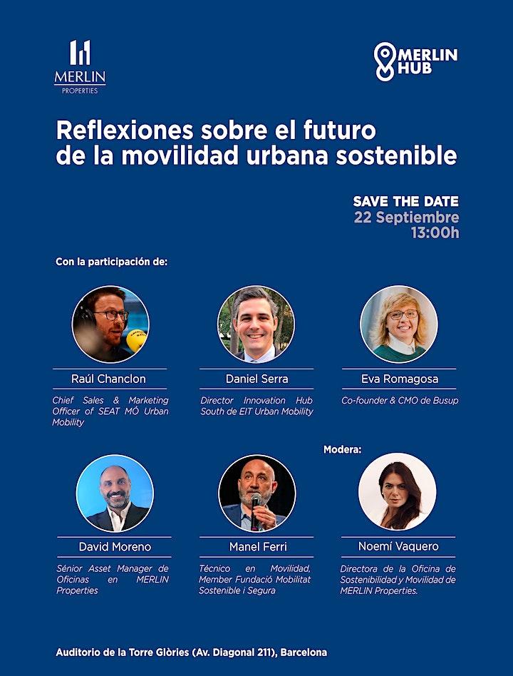 """Imagen de Jornada de Movilidad: """"Reflexiones sobre el futuro de la movilidad urbana s"""