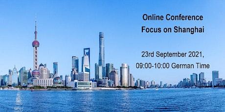 """Online Event """"Focus on Shanghai"""" tickets"""
