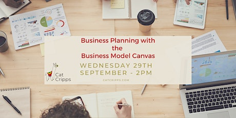 Introduction to planning with the Business Model Canvas - Sep 2021 tickets
