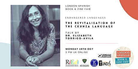 Endangered languages: The Revitalisation of the Ckunza Language tickets