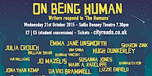 ON BEING HUMAN - WRITERS RESPOND