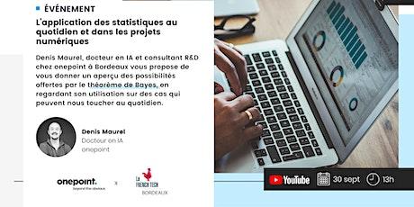 L'application des statistiques au quotidien et dans les projets numériques billets