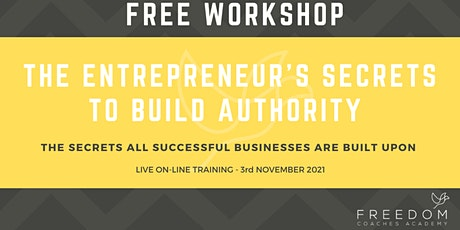 The Goal Post - The Entrepreneur's Secrets To Build Authority tickets