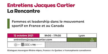 Femmes et leadership dans le mouvement sportif en France et au Canada billets