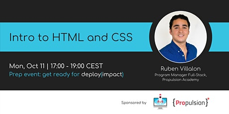 Intro to HTML and CSS | Webinar by women++ tickets