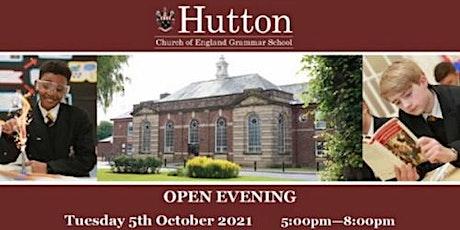 Hutton Church of England Grammar School - Open Evening tickets