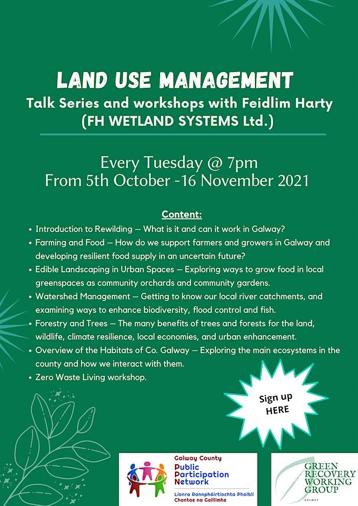 Land Use Management & Biodiversity Workshops image
