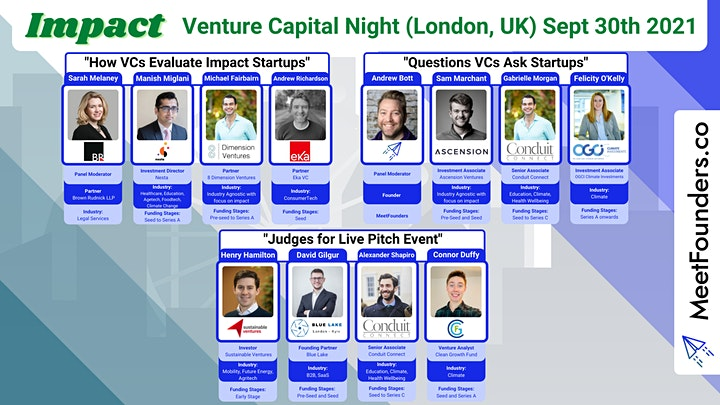 MeetFounders Impact Venture Capital Night [In-Person!] image