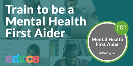 Mental Health First Aid  Online- MHFA  28th & 30th September tickets